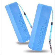 Best gift universal portable charger mobile phone mini 2600 mah battery Power Bank for iphone 7 8 X Xr Xs max