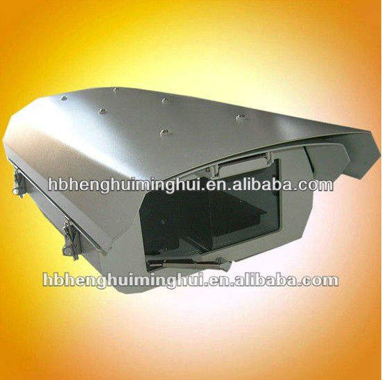 Indoor/Outdoor big window camera enclosure
