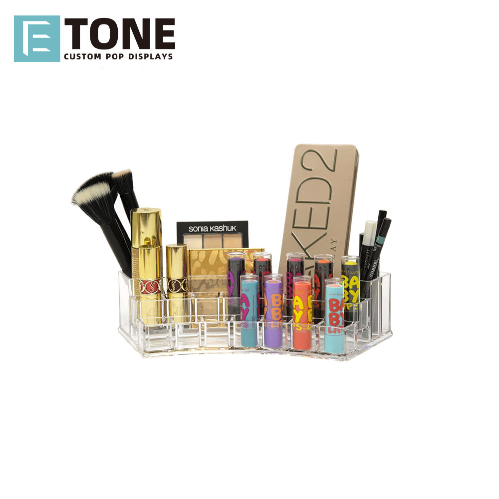 Cosmetische lippenstift Display stand clear lipstick acryl display opslag display case koop