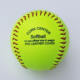 Fluorescent Yellow color 12 inch High Quality cork core softball