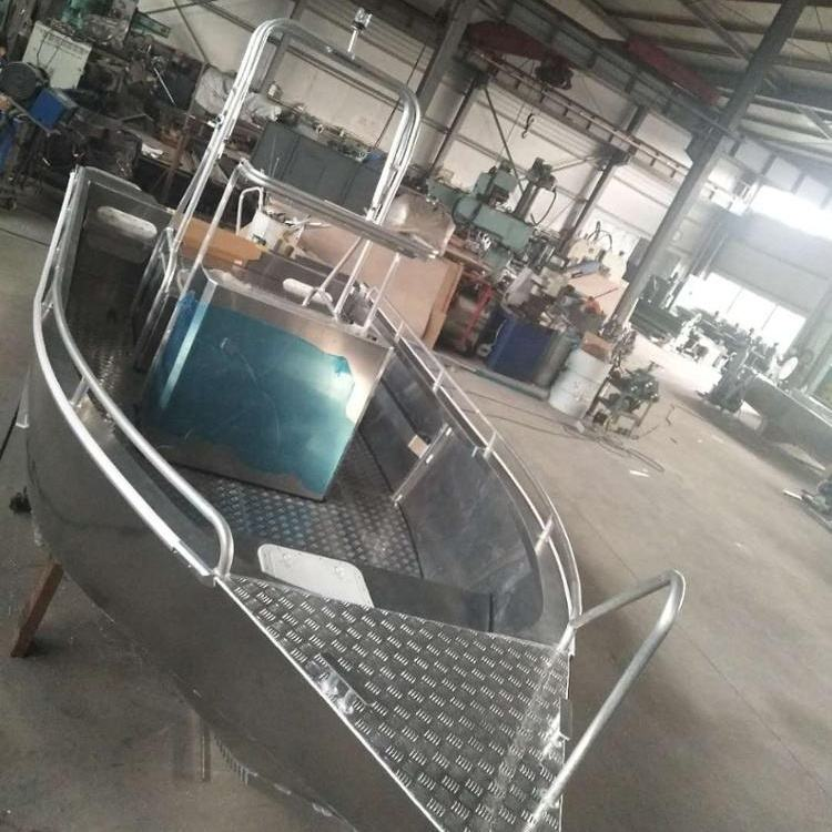 20ft outboard welded aluminum fishing boats with CE manufacturer in china