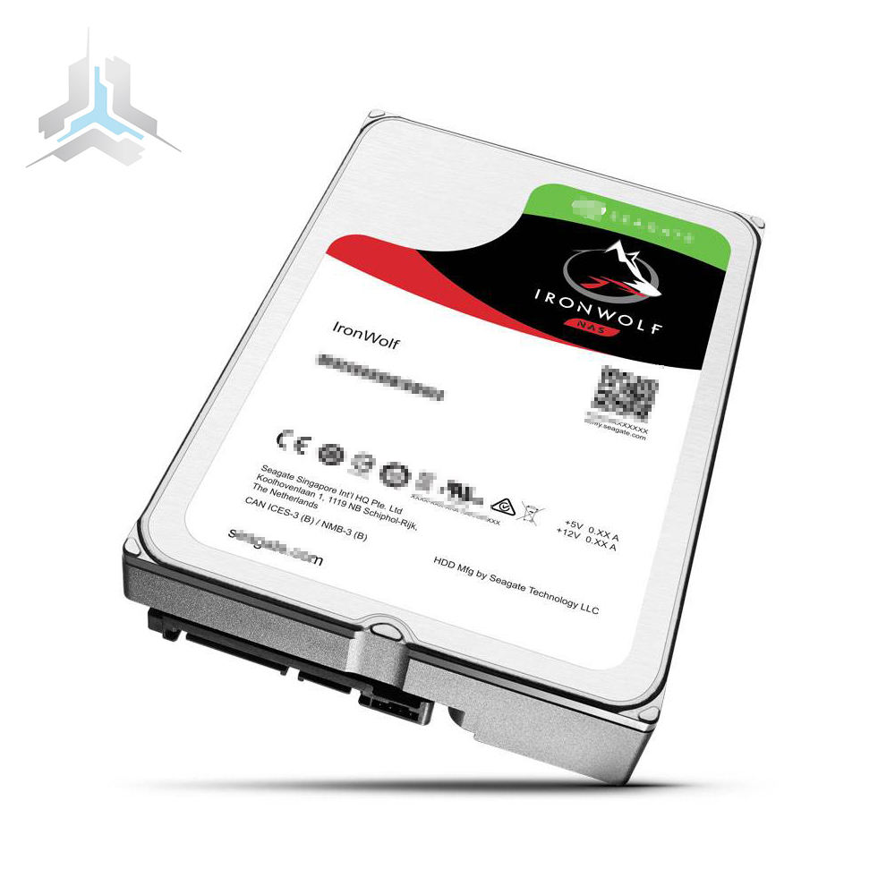 "ST12000VN0007 IronWolf 12テラバイトSATA 6ギガバイト/秒256MB Cache 3.5 ""Internal Network (NAS) Hard Disk"
