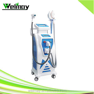ipl shr q switch nd yag laser machine hair removal made in germany