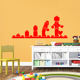 Lego Blocks Home Decor Nursery Kids Long Wall Decals
