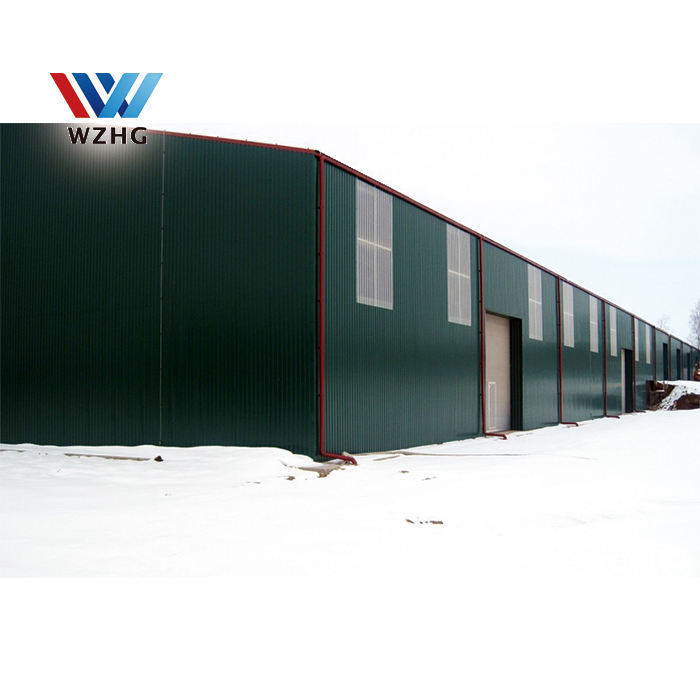 industrial steel structure warehouse metal building kit