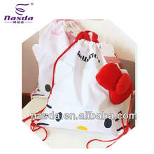 hello Kitty bag pp non woven shoulder bag for children