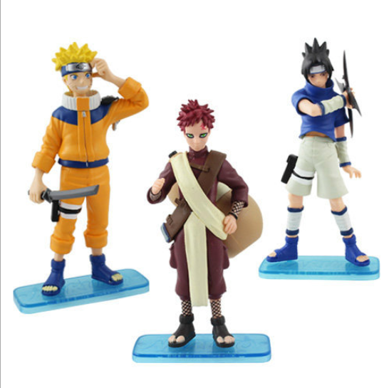 Cartoon toys Cartoon Naruto action figure Gaara Sasuke Uzumaki Naruto figure