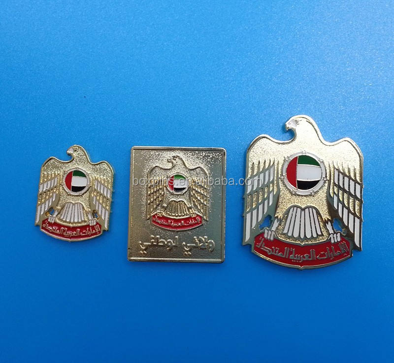 Uae falco badge, uae logo in rilievo nazionale giorno pin, <span class=keywords><strong>Abu</strong></span> Dhabi badge