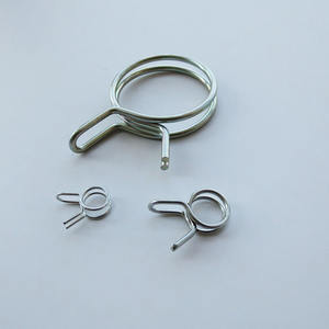 constant tension spring band hose clamps,zinc plating