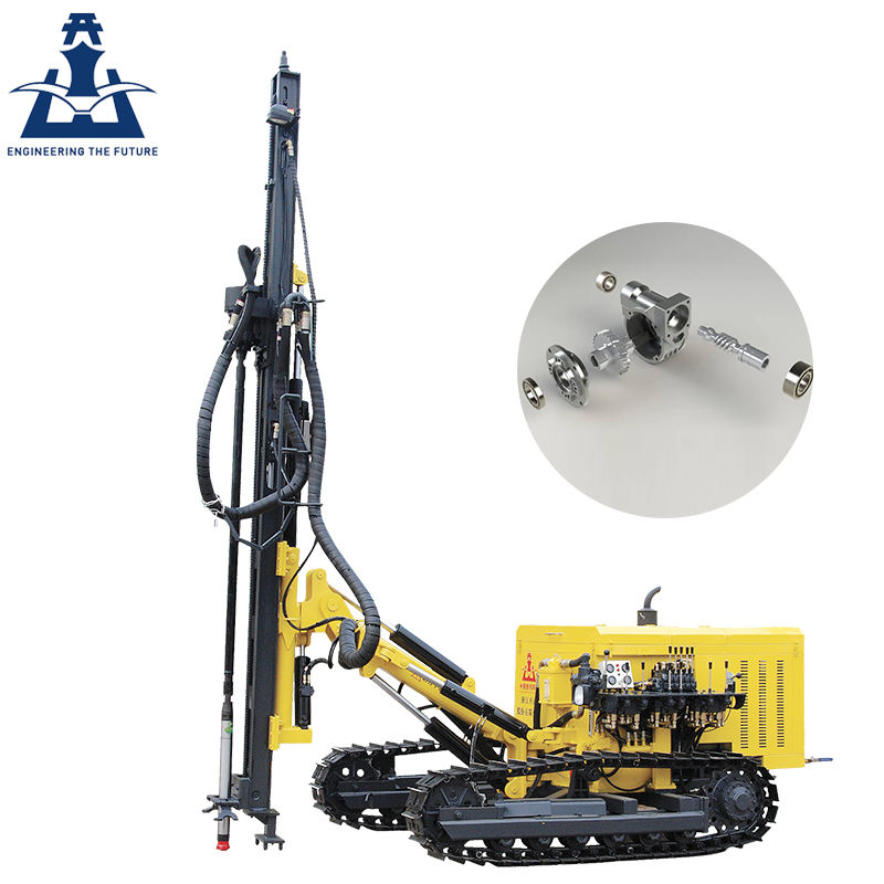 KAISHAN 25m-300m furukawa crawler rock drilling machine price