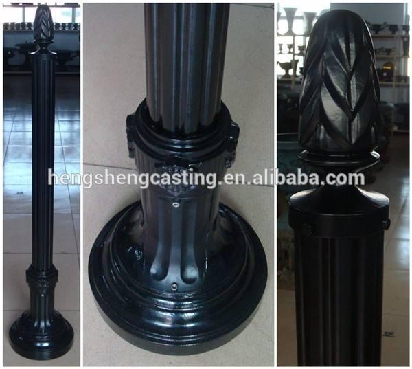 Nouveaux produits Hebie Cangzhou décoratif en aluminium immobilier poteau