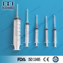 China products painless large enema syringe with sterile needle