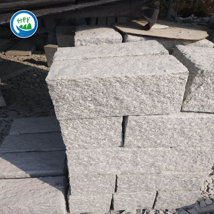 white granite wall brick for German market