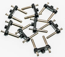 High Promotional Brass plug pins for 2013 6-10A/250V MID-EAST AC plug pin with 4.0mm insert