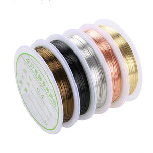 Wholesale 0.1-2.0mm Copper Wire For Jewelry Making Craft Wire Jewelry