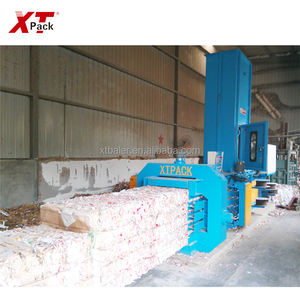 XTpack-2019 Automatic Waste Paper Carton Baling Presse with Cheap Price