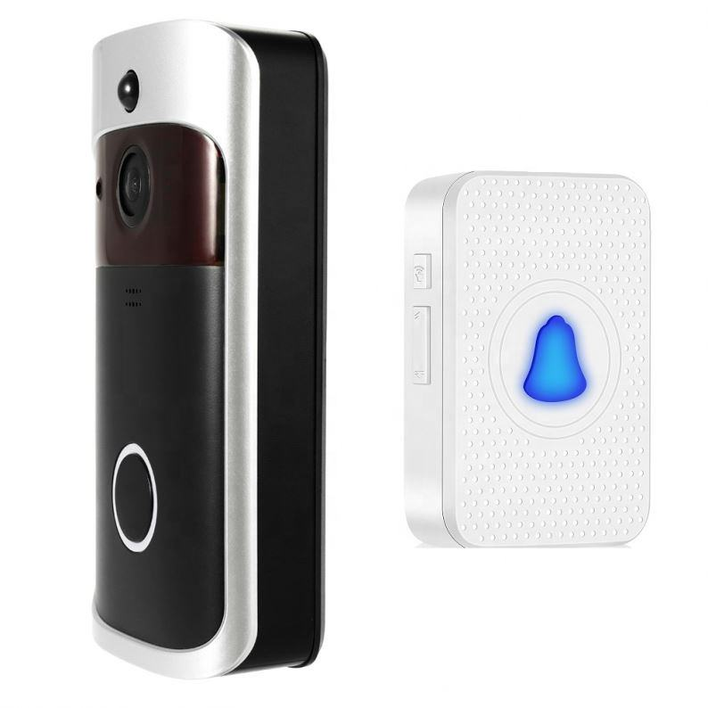 supports amazon alexa google home mini wifi wireless smart home 2018 best video ring doorbell