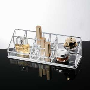 Clear Acrylic Make Organizer Acryl Sieraden Oorbel Organisator Make Up Organizer