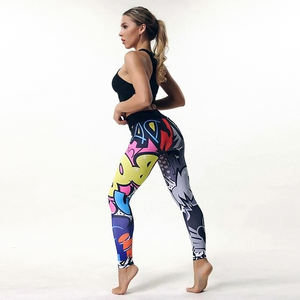 Private Label Personalizados Design Quick-seco Colombiano Boom das Mulheres Leggings Esportivos