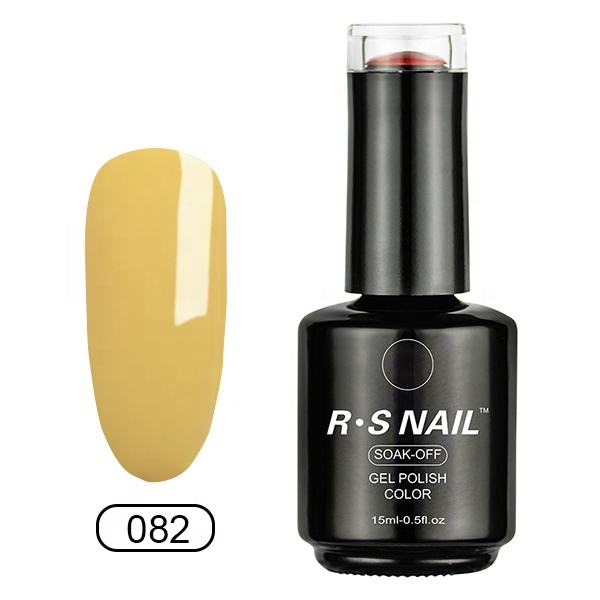 Free sample RS Nail popular in beauty show, UV/LED gel polish with 800 colors uv polish gel No BATO TPO and TPO-L