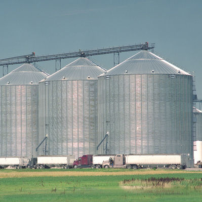 Steel 10000ton Wheat Storage Grain Silo Cost Price