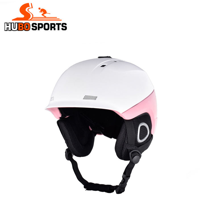 Professional custom high impact ABS top shell with any color coating ski helmet