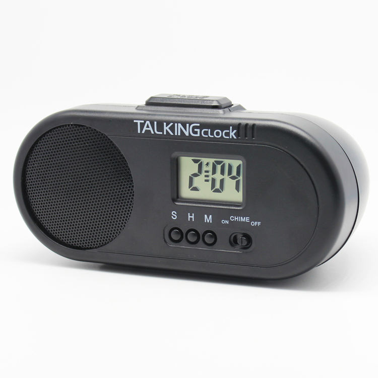 Talking Alarm Clocks for Adults ,Spanish Talking Clock,Manual Alarm Clock