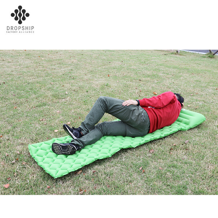 DS-SB1004 Reliable and Cheap outdoor new self inflating air sleeping pad