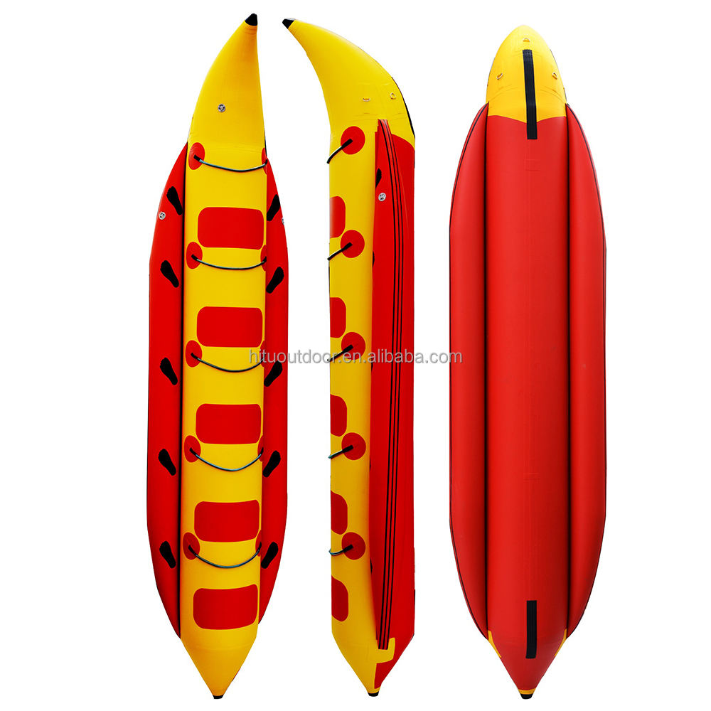 Hot sale inflatable banana boat rafting boat