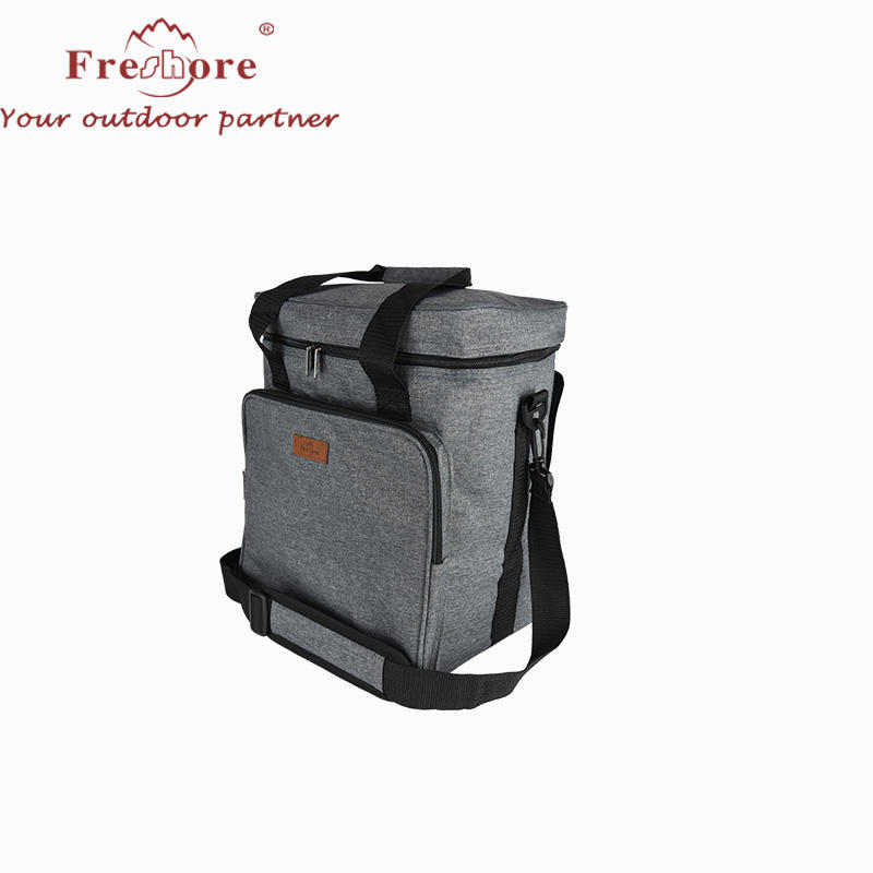 Travel Picnic Insulated Wine Cooler Tote Bag Case with Shoulder Strap for Beer and Champagne