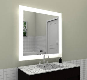 Nouveau produit en vogue grand miroir de maquillage LED mural