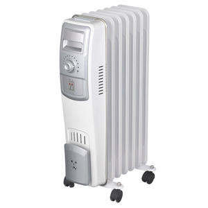 220V-240V/1500W room electric thermal oil filled radiator heater