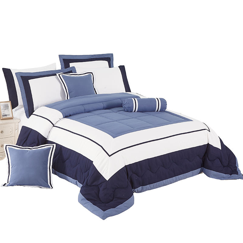 KOSMOS Bedding Solid Microfiber Wholesale Comforter