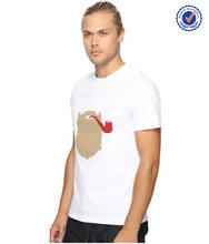 Best quality classical printing men t-shirt garment factory