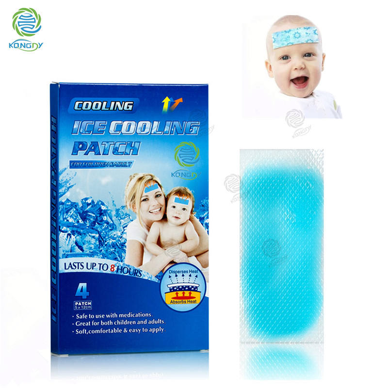 Cool gel sheet/patch pad baby koorts care cooling