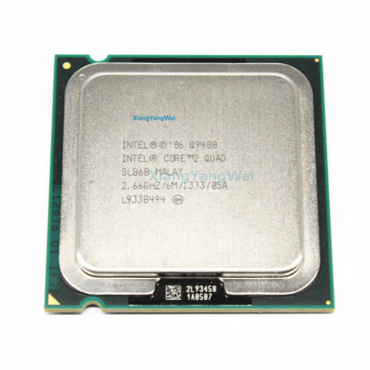 INTEL CORE 2 QUAD Q9400 Prosesor 2.66GHz 6MB L2 Cache FSB 1333 Desktop LGA 775 CPU