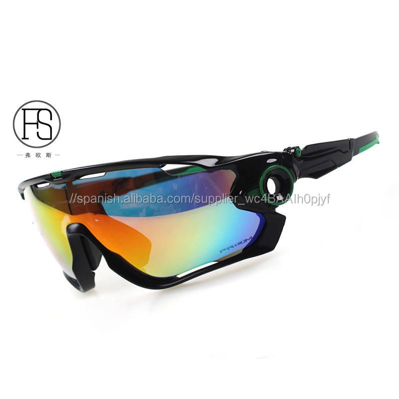 Marca polarizado ciclismo gafas de sol/Mans mountain bike gafas deporte ciclismo bicicleta gafas de sol ciclismo gafas