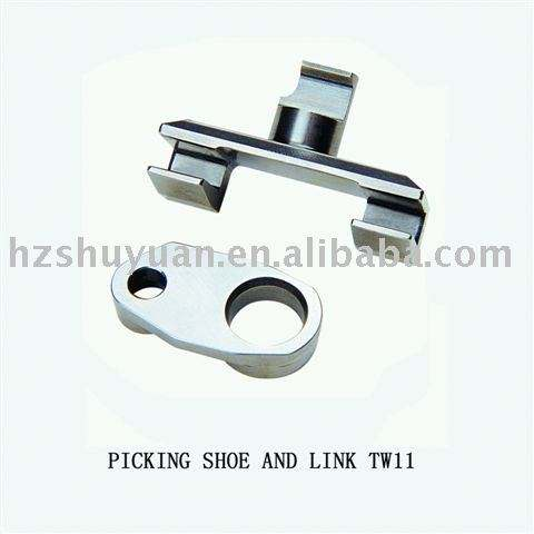 TW11 PICKING SHOE WITH LINK used for sulzer projectile loom parts