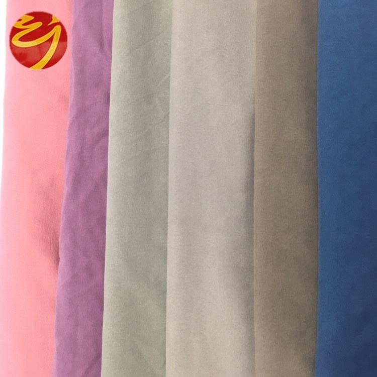 High Quality Super Soft 100% Polyester Microfiber Fabric for home textile
