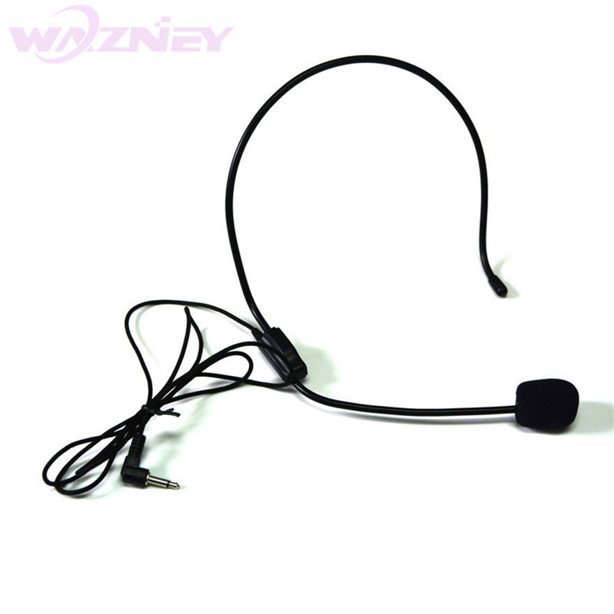 3.5MM Wired Microphone Headset Studio Conference Guide Speech Speaker Stand Microphone For Voice Amplifier Portable Mics