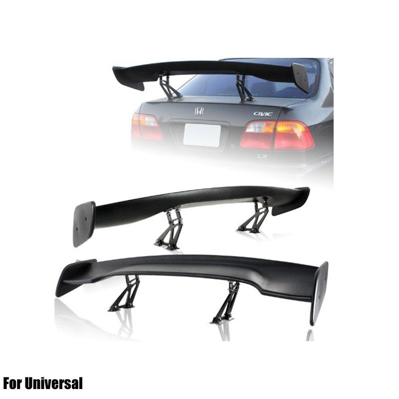 ABS Spoiler Wing with Light For Universal Car Rear Spoiler