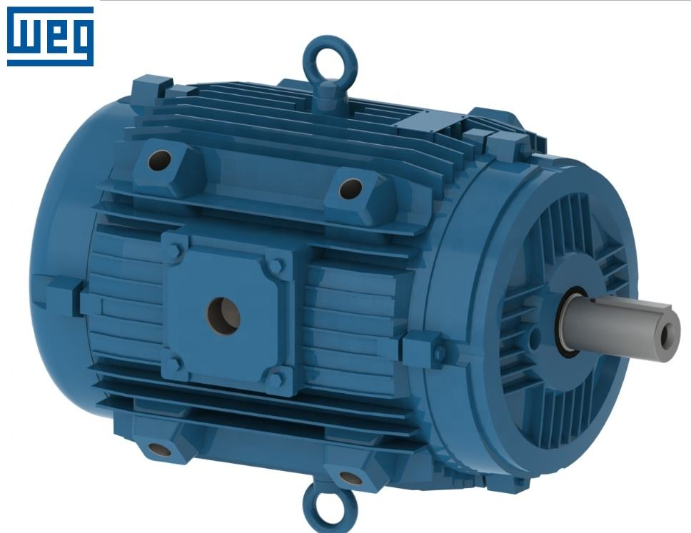 WEG W21 series IE3 high efficiency 0.75kW 3 phase ac induction motor