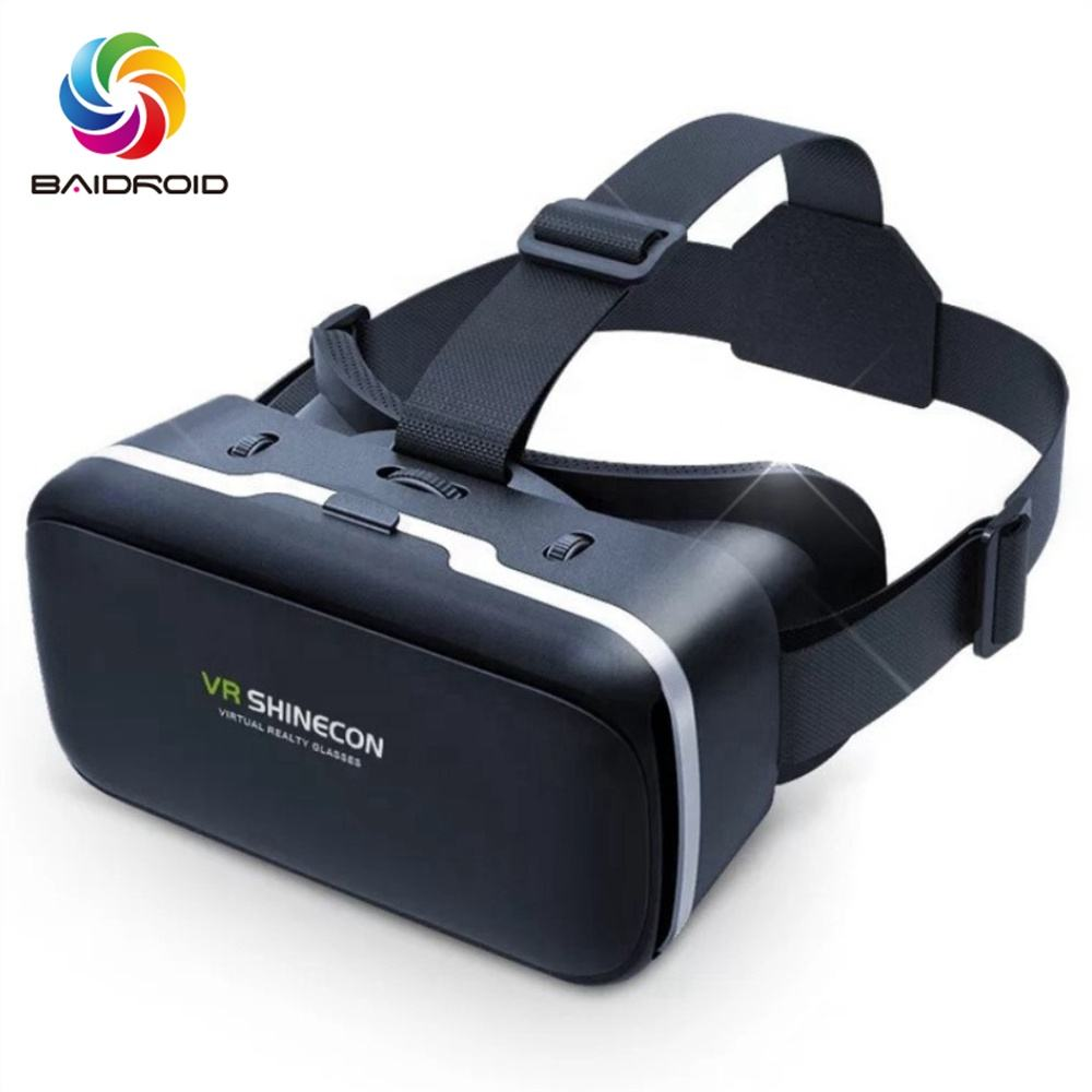 VR DOOS Glazen Fabriek Virtuele Display Reality Bril voor Mobiele Telefoon 3D HD VR Bril Game Video Movie