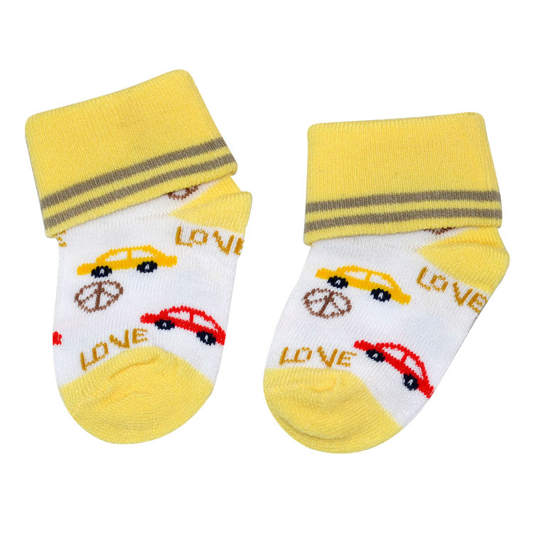 Cheap Wholesale Soft Cozy Fancy Newborn Baby Socks