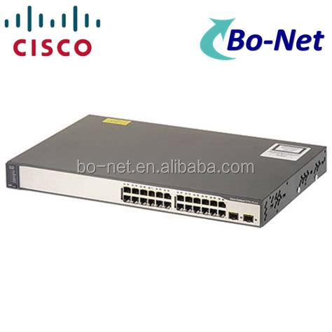 سيسكو WS-C3750V2-24TS-S تدار شبكة التبديل 3750V2 24 10/100 + 2 SFP القياسية
