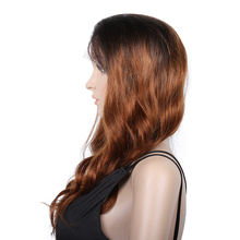 premier cambodian remy hair ombre color real hair full lace wigs