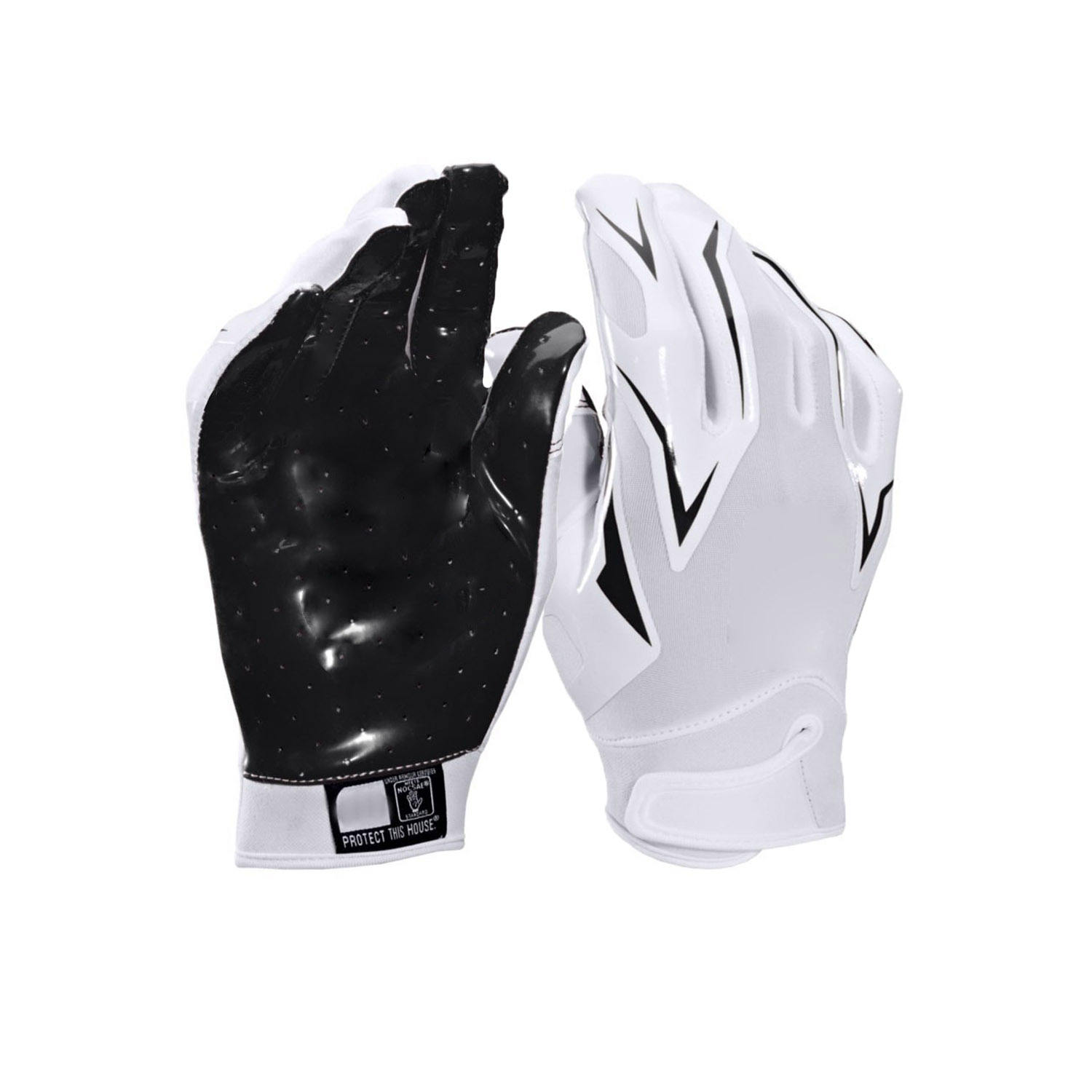 Customized palm american football gloves manufacturer, custom american football gloves