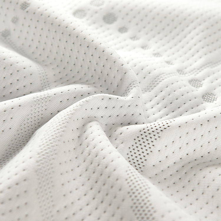 100% Polyester Double Knitted Mattress Ticking Fabric for Pillow and Mattress Cover