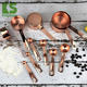 Amazon top seller kitchen accessories stainless steel copper gold measuring cups set measuring spoons set