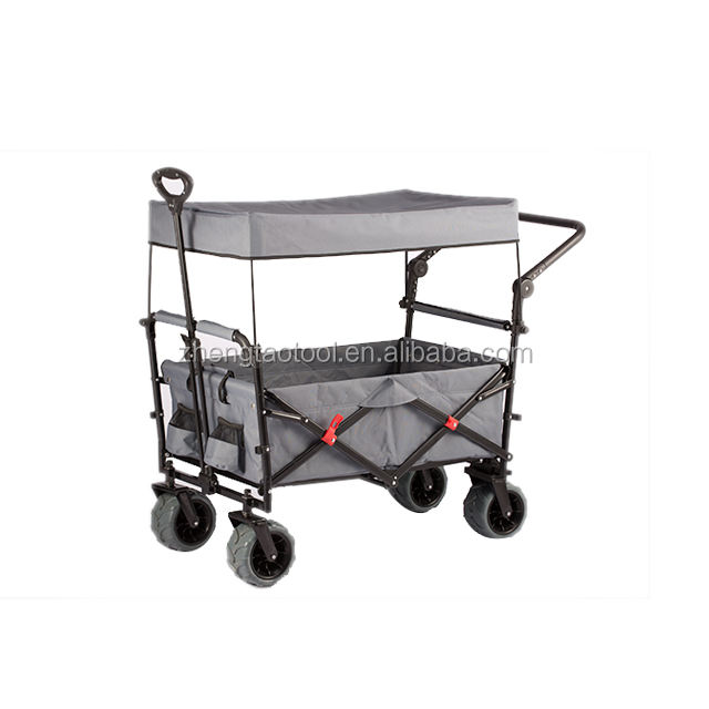New Design Push Moving Foldable Wagon Carts for Kids